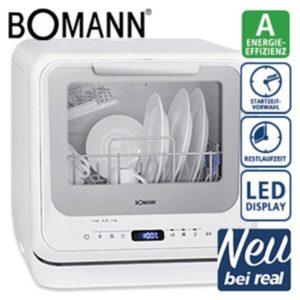 Bomann TSG 7402 - Szabadonálló mobil mosogatógép É1